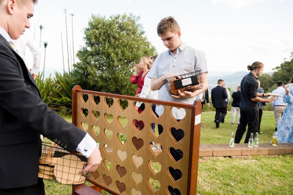 Connect Four Wedding Game