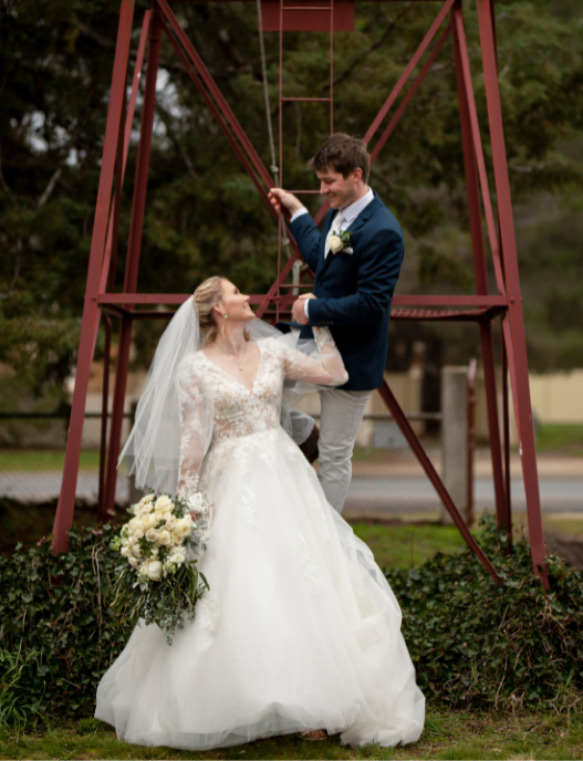 Stacey and Brenton - Church Wedding NSW