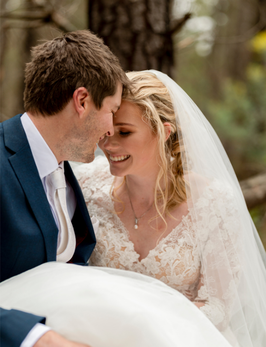 Stacey and Brenton Intimate Wedding